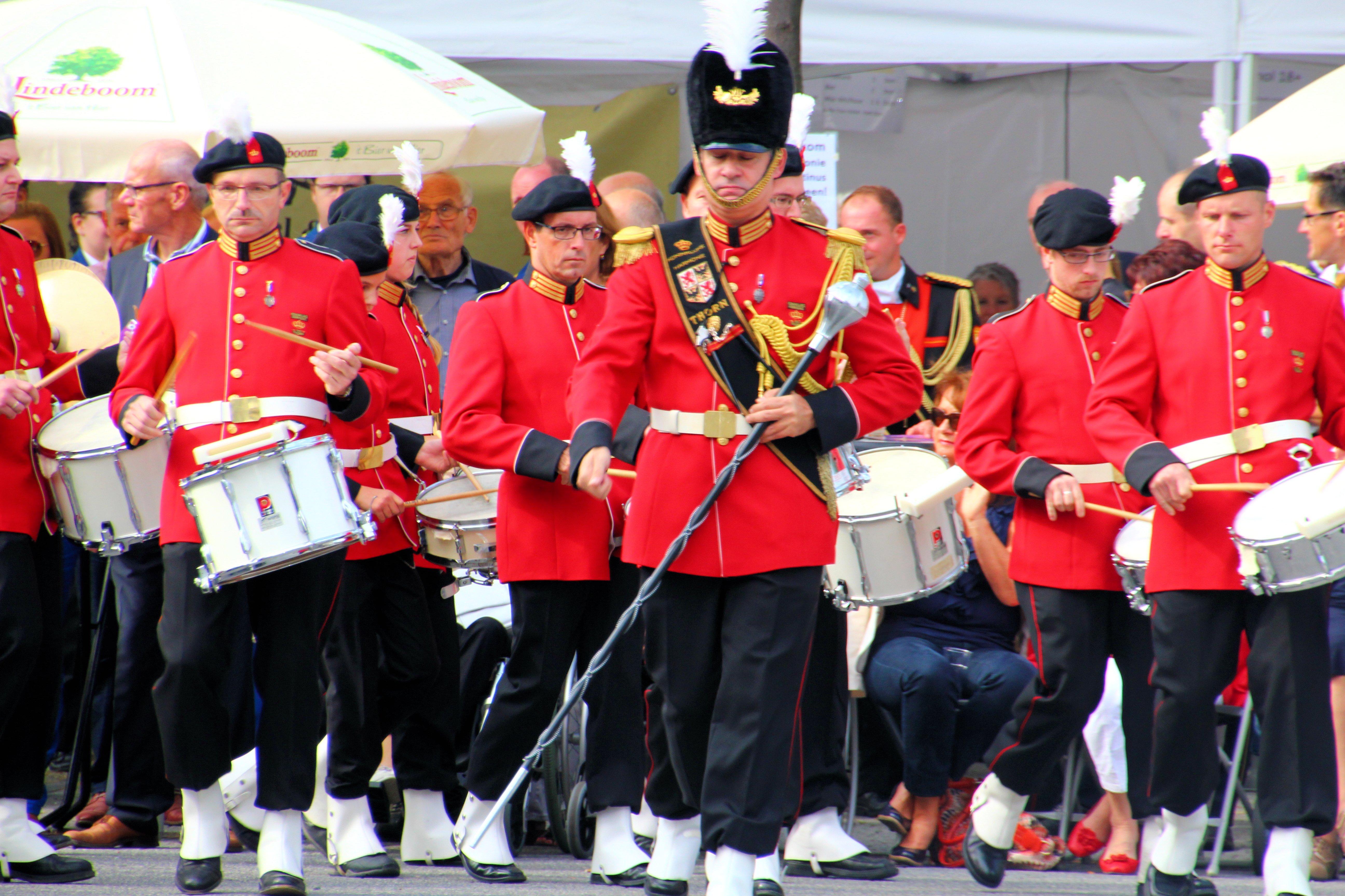 Deelname Drumband Koninklijke Harmonie van Thorn aan het LBM Podiumconcours