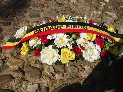 Opluistering defilé herdenking Brigade Piron