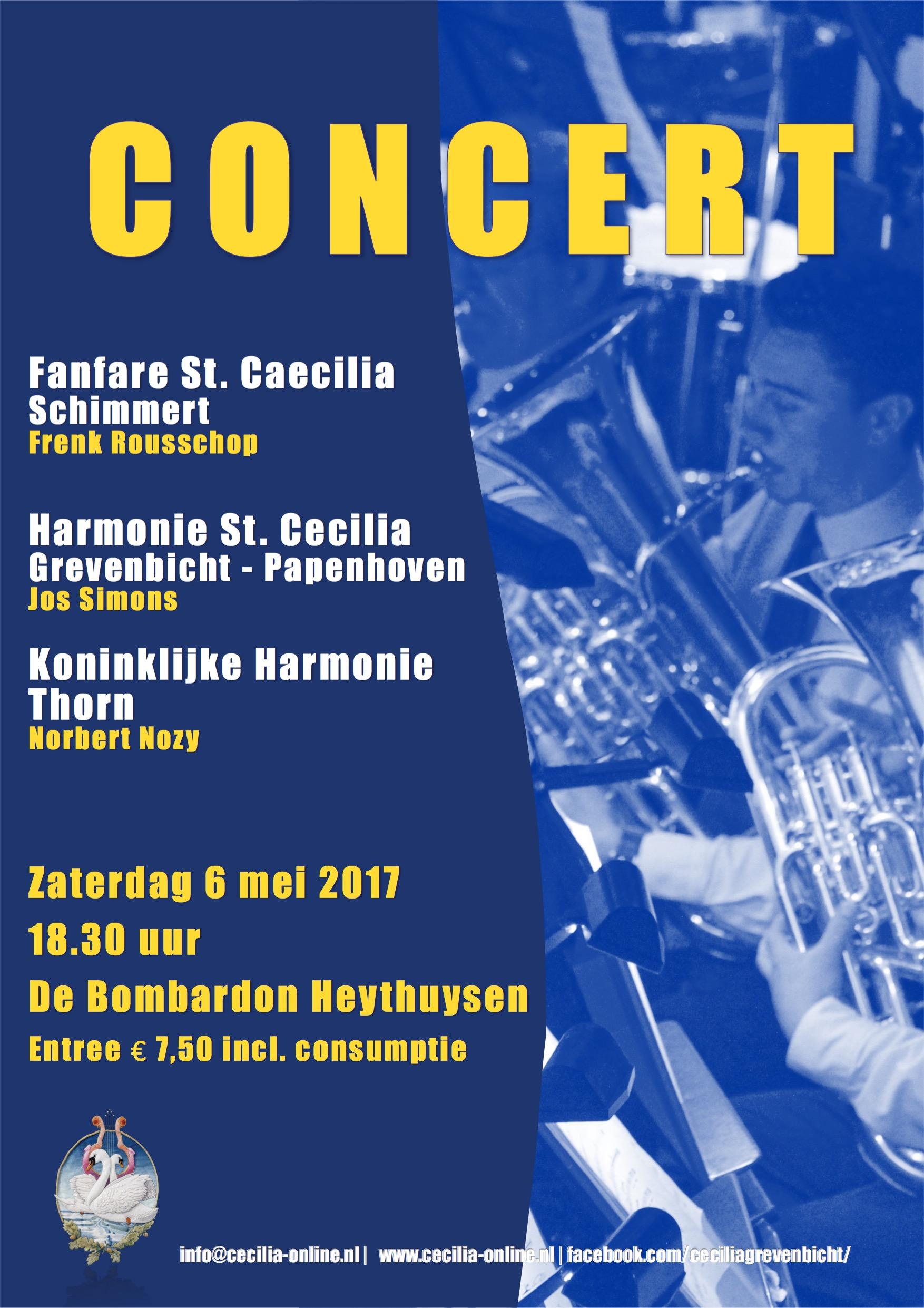 Concert ism Harmonie St Cecilia Grevenbicht-Papenhoven